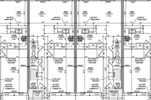 1309 Townhome Floorplan1