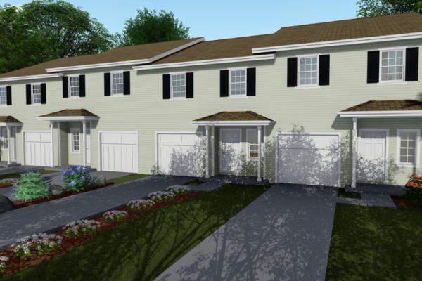 1309 Townhome Rendering