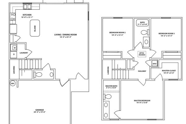 1547 sq ft floor plan