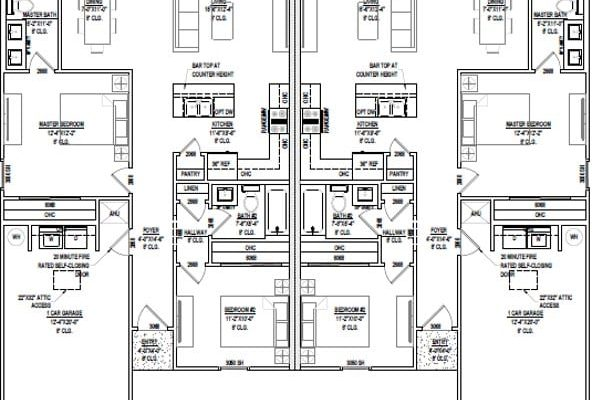 1954 sqft floorplan