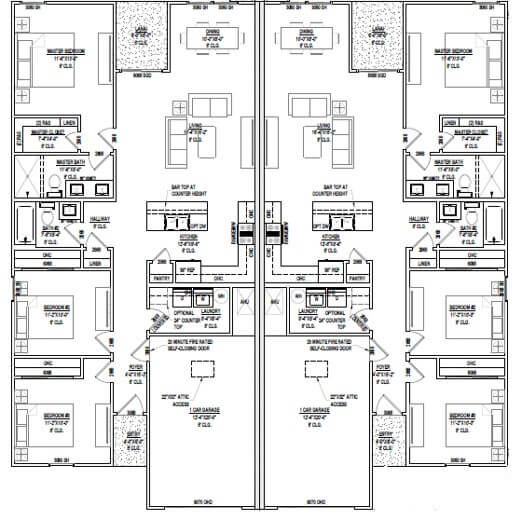 2574 sq ft floorplan