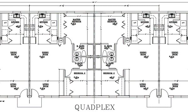 3897 Quad Floorplan