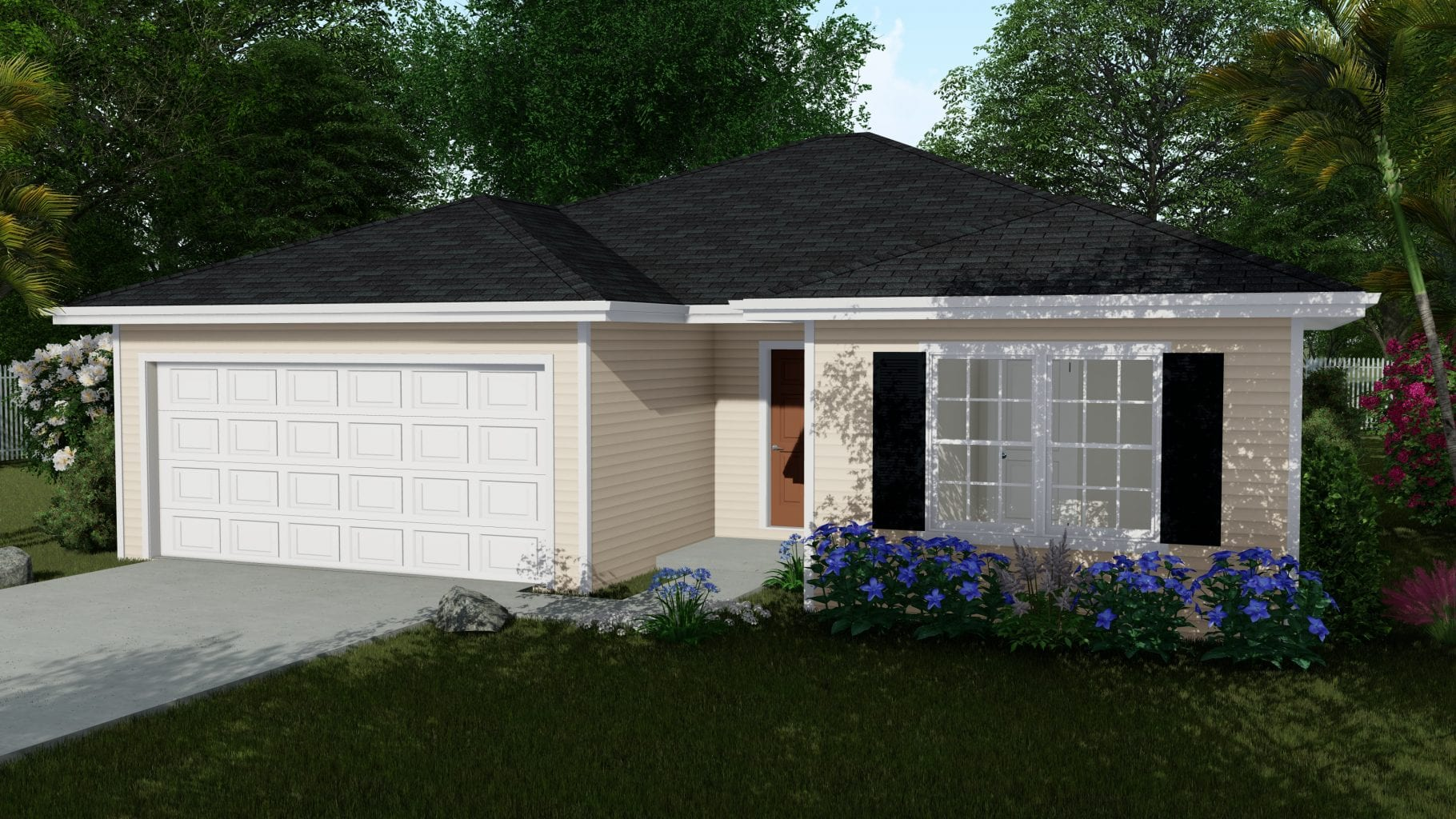 1209 sq ft rendering