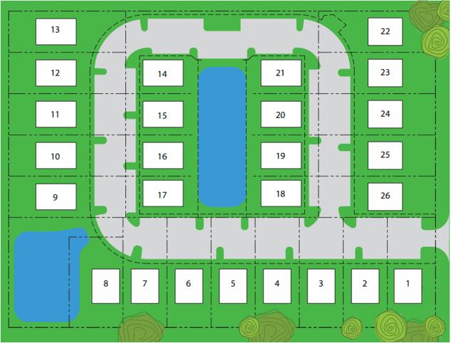 Ryans Pond Site Map